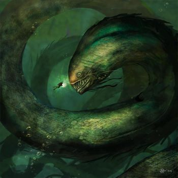 Sea Monster by NgJas