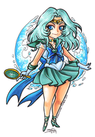 Sailor Neptune chibi by omegasama