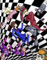 .Ouran in Wonderland. by fatpuppy