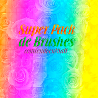 +SUPER PACK DE BRUSHES. by ComiendoCnNiall