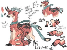 Crovven reference (updated) by aquatic4l