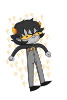 KarKat Got His Big Boy Pants On by MsKawaiiPants