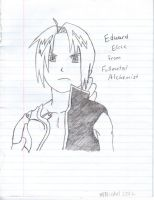 Edward Elric Drawing by emberstar13