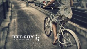 Barefoot Bicycle Girl by WWW.FEET.CITY  (5) by bocukom