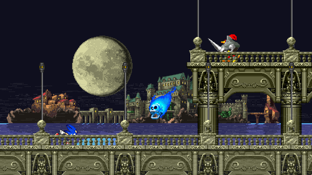 CastleVania Zone Mock-Up 4 - Asorted Mock-Up by MrLevRocks