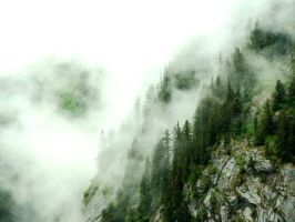 Misty Mountains by songofgold