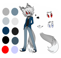Wolf Ref by AvalaAdopts