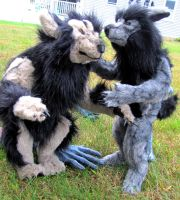 New werewolf soft sculptures by Jarahamee
