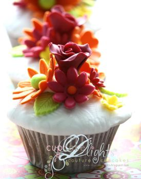 bright and summery cuppies by ZaLita