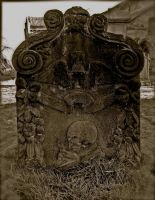 Early 18th Century Gravestone by FalseMaria
