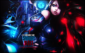 Shooter Girl by StormShadownGFX