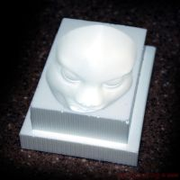 Mask Mold Project - angle shot by UnexpectedToy