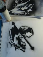 Twilight Princess stencil by shadowmer92