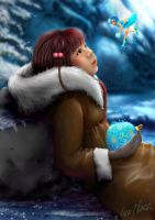 Chivi, The Ball Christmas Pixy by lusi-maria