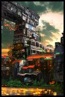 Shanty Final by GeorgeLovesyArt