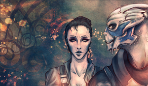 Garrus and Sue - Flavor by Reliah