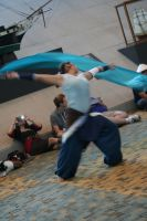 Korra in motion. by Witch-Hunter-87