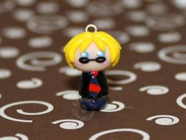 Custom Chibi Boy Charm by KBelleC