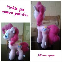 pinkie pie plushie new pattern by caroarte