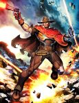 Overwatch - McCree by GENZOMAN