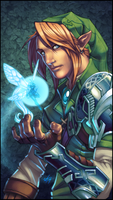 LoZ Series: Link by WesTalbott