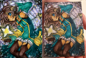 ACEO Commish - Deep Pallei by ICanReachTheStars