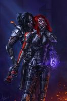 Mass Effect 3 by Asgerd-art