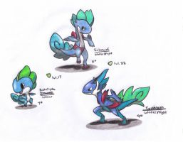 Water Starter Fakemon by Razorshell