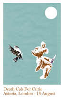 Death Cab For Cutie Poster by Euskera