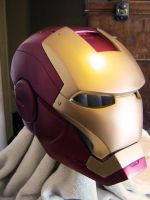Avenger Mark VII Iron man Helmet i by NMTcreations