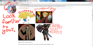 Proof that Cole Sprouse likes FMA by PartyRockingPikachu
