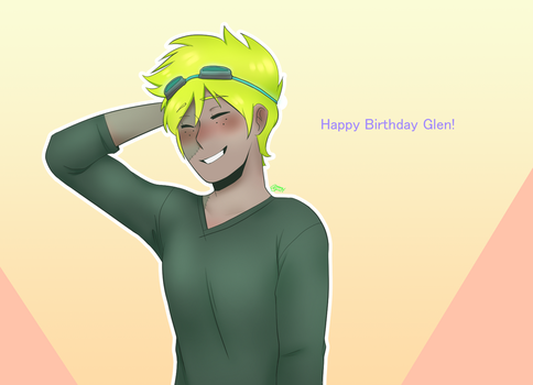 Happy Birthday Glen!!! by AuroraSpirit