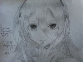 Vocaloid Lily (Finished) by Koreanskyz