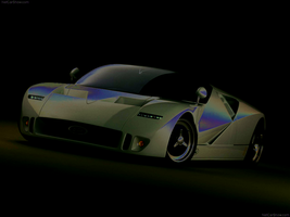 Ford GT90 Concept 95 by knobiobiwan