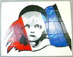 Les Mis Duct Tape Poster by QuietMischief