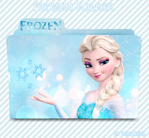 Frozen - Elsa Windows Folder by LinaLeeL