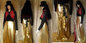 Steampunk inspired bustle skirt by JanuaryGuest