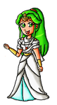Myths and monster Palutena by ninpeachlover