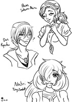 .PMA Dem Sketches. by Melodious-X