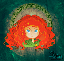 Brave : Merida by tamarushka