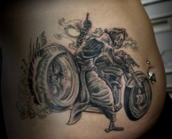 FAUCHEUSE A MOTO by HIGHTRIP