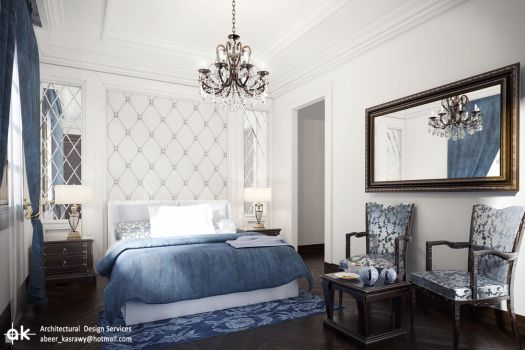Villa SH- Bedroom 2-2 by kasrawy