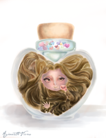 Jar of hearts by riyoko07