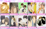 My top 10 parings-yaoi by Fujoshi-pony-1D