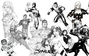 Jim Lee Tribute by Xionice