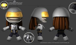 Armorsack : LBP Contest by 3dmodeling