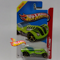 HW RACING DIESELBOY Green by idhotwheels