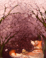 Blossoms by Hlaorith