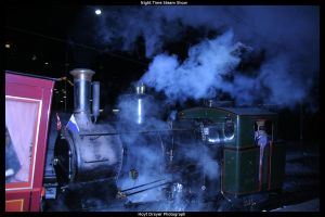 Night Time Steam Show by HerrDrayer