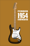 Fender 1954 Stratocaster by Pullerwhip